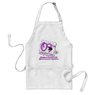 otのパズルの紫色 スタンダードエプロン