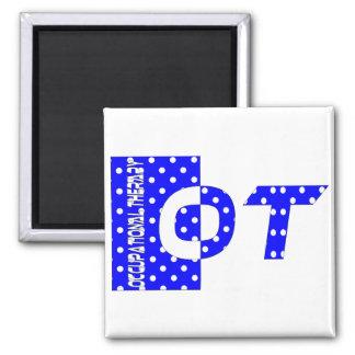 OTの青および白 マグネット
