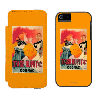 Otard-Dupuy及びCO.のコニャックの昇進ポスター Incipio Watson™ iPhone 5 ウォレット ケース