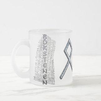 Othalaのruneのマグ フロストグラスマグカップ