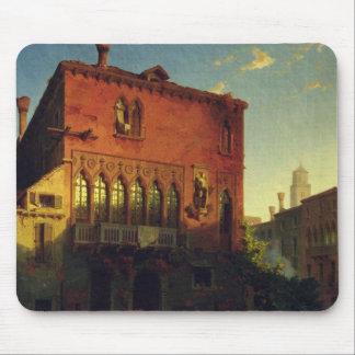 Othelloの家、ベニス1856年のムーア マウスパッド
