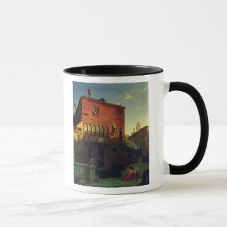 Othelloの家、ベニス1856年のムーア マグカップ