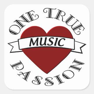 OTP: 音楽 スクエアシール