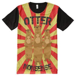 Otter Nonsense オールオーバープリントT シャツ