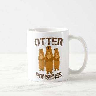 Otter Nonsense II コーヒーマグカップ
