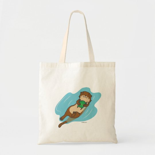 Otter tote bag トートバッグ