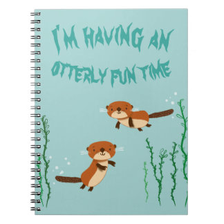 otterlyおもしろいの時間があること ノートブック