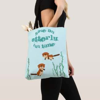Otterlyのおもしろいの時間があって下さい トートバッグ