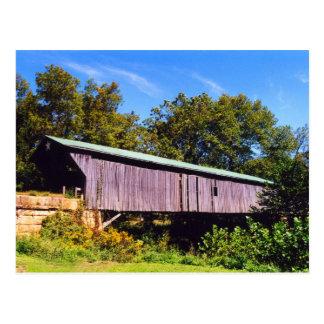 Otwayの屋根付橋の郵便はがき ポストカード