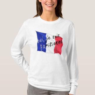 Ouiのjeのsuisのparisienne Tシャツ