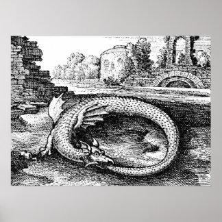 Ouroborosのドラゴン ポスター