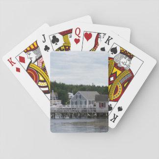 """Outbuilding""のBoothbay港のクラシックな遊ぶカード トランプ"