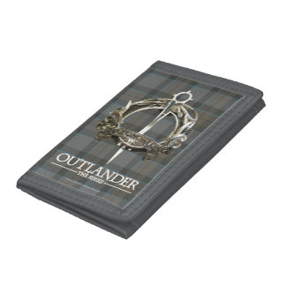 Outlander  マッケンジーの一族のブローチ ナイロン三つ折りウォレット