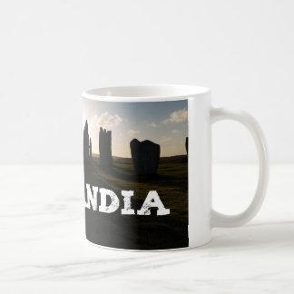 Outlandiaの永続的な石 コーヒーマグカップ