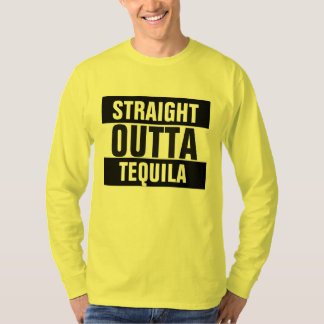 Outtaのまっすぐなテキーラ Tシャツ