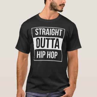Outtaのまっすぐなヒップホップ Tシャツ