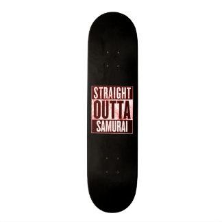 Outtaのまっすぐな武士カスタムなプロ公園板 カスタムスケートボード