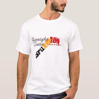 outtaのブリュッセルまっすぐなBrusellsのTシャツ Tシャツ