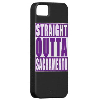 Outtaまっすぐなサクラメントの紫色 iPhone SE/5/5s ケース