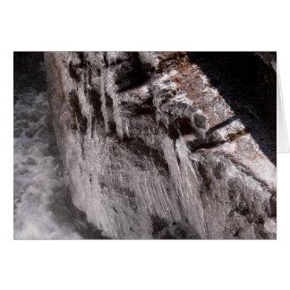 Ouzelの滝の氷った霧 カード
