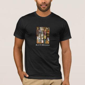 Ouzoおよびmetaxaアルコール Tシャツ