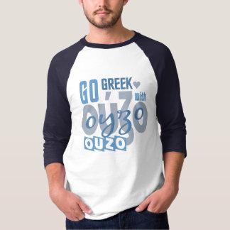 OUZOのワイシャツ-スタイル及び色を選んで下さい Tシャツ