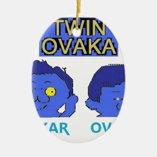 OVAKA・LOOPY 陶器製卵型オーナメント