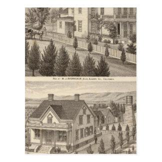 Overackerのエマーソンの住宅 ポストカード