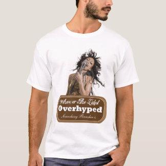 Overhyped金切り音のバンシー Tシャツ