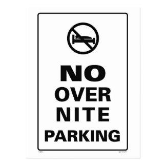 OverNiteの駐車無し ポストカード