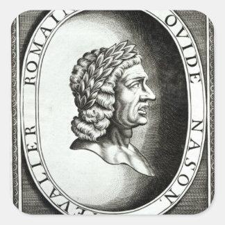 Ovidのポートレート スクエアシール