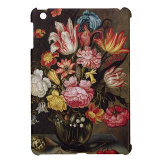 Ovoidのつぼの花の静物画 iPad Miniケース
