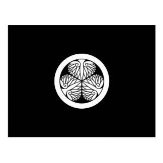 Owariのhollyhock (Edo17) ポストカード
