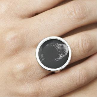 「Owlを掘り進みます 指輪