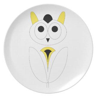Owl女性 プレート