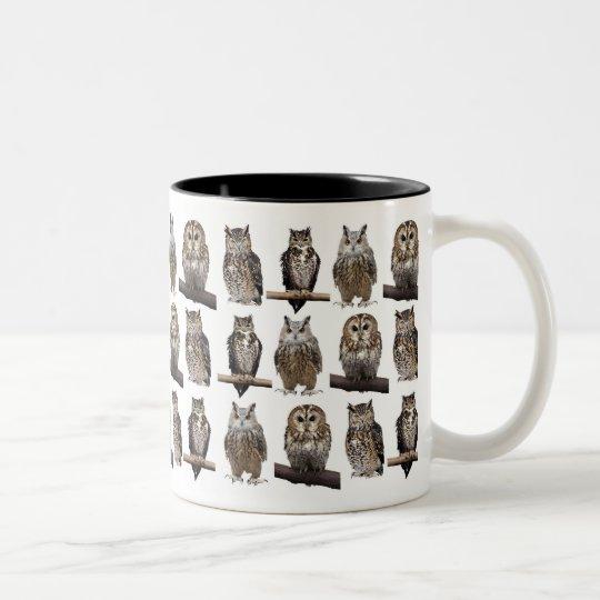 Owls ツートーンマグカップ