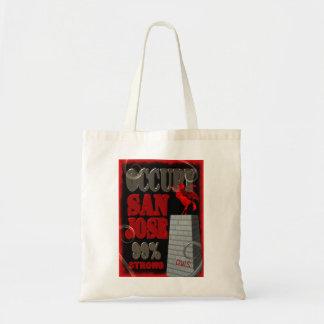 OWSサンホセの壁の抗議のバッグを占めて下さい トートバッグ