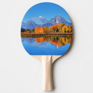 Oxbowのくねりの日の出 卓球ラケット