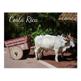 Oxcartのコスタリカの郵便はがき ポストカード