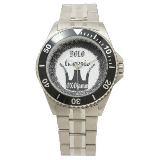OXOjammのスタジオのボロのコマンドの戦闘の腕時計 腕時計