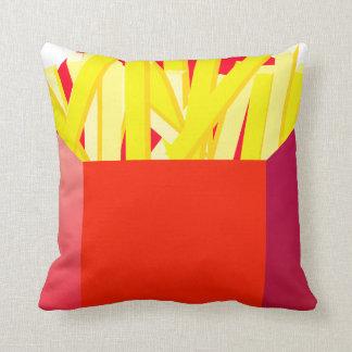 Oxygenteesのフライドポテトのアメリカ人のMoJoの枕 クッション