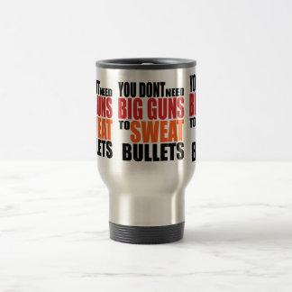 Oxygentees大きい銃が弾丸を発汗させることを必要としません トラベルマグ