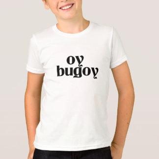 Oy BugoyのああTシャツの半分のフィリピンの半分のユダヤ人 Tシャツ