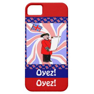 Oyes! Oyez! 仕事のTowncrier iPhone SE/5/5s ケース