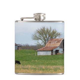 Ozarkの古い農場 フラスク