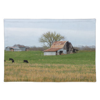 Ozarkの古い農場 ランチョンマット