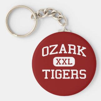 Ozark -トラ-高等学校- Ozarkミズーリ ベーシック丸型缶キーホルダー