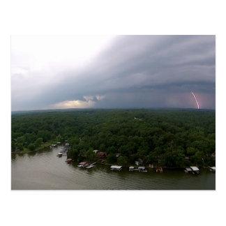 Ozarksの湖の緩和 ポストカード