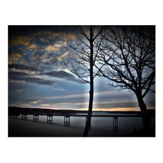 Ozarksミズーリの湖 ポストカード