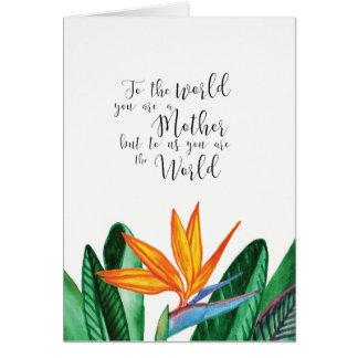 Ozias著多彩な母の日カード カード
